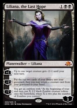 Liliana, the Last Hope FOIL - фото 33935