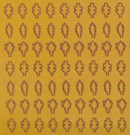 Лист дуба M (330 штук, 2,3*3,6 мм) ЗОЛОТОЙ - фото 34223