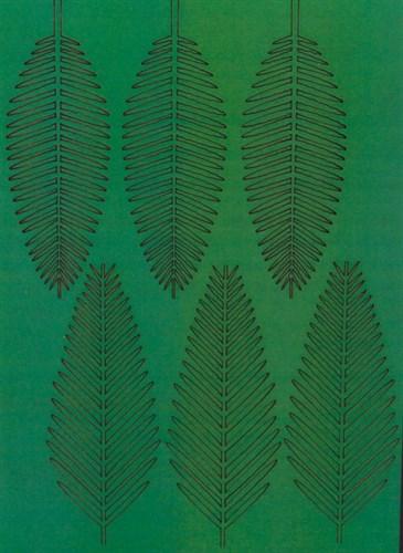 Лист Королевской Пальмы L - фото 34231