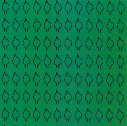 Лист сердцевидный M (350 штук 2,2*4,4 мм) ЗЕЛЕНЫЙ - фото 34232