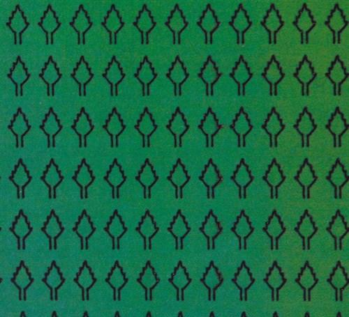 Лист ромбовидный L (273 штуки 2,5*4,2 мм) ЗЕЛЕНЫЙ - фото 34237