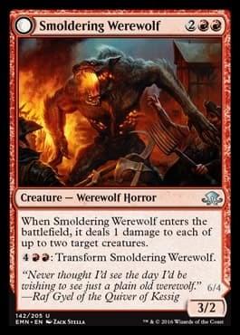 Smoldering Werewolf - фото 34303