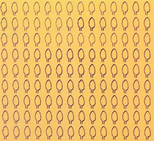 Лист овальный L (294 штуки 2,1*4,1 мм) ОСЕНЬ - фото 34411