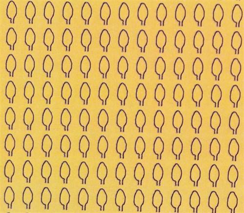 Лист овальный L (294 штуки 2,1*4,1 мм) СУХОЙ - фото 34414