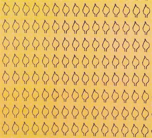 Лист сердцевидный M (350 штук 2,2*4,4 мм) СУХОЙ - фото 34420