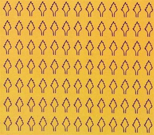 Лист ромбовидный L (273 штуки 2,5*4,2 мм) ОСЕНЬ - фото 34421