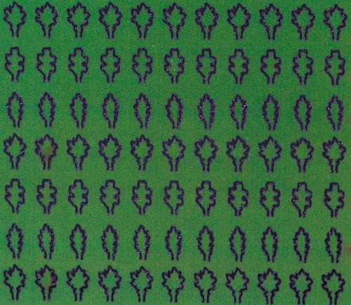 Лист дуба M (330 штук, 2,3*3,6 мм) ЗЕЛЕНЫЙ - фото 34427