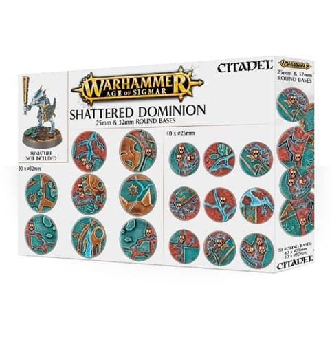 Aos: Shattered Dominion: 25 & 32mm Round - фото 34509