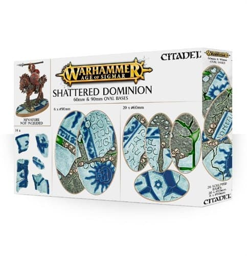 Aos: Shattered Dominion: 60 & 90mm Oval - фото 34517