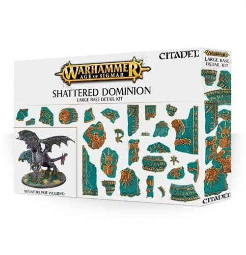 Shattered Dominion Large Base Detail - фото 34521