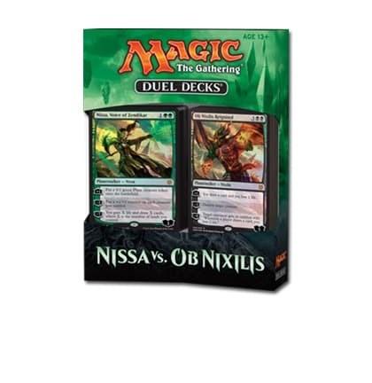 Дуэльный набор «Nissa vs Ob Nixilis» на английском языке (eng) - фото 35072