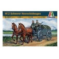 Повозка  Hf.2  SCHWERER HEERESFELDWAGEN (1:35) - фото 35824