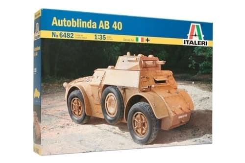 Бронеавтомобиль Autoblinda AB 40