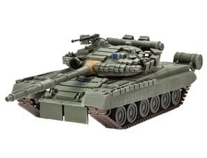 Танк  Т-80У (1:48) с микроэлектродвигателем - фото 36000