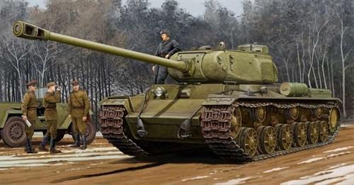 Soviet Kv-122 Heavy Tank  (1:35) - фото 36025