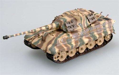 """Танк  """"Тигр"""" II   Pz.Abt.503 (башня Порше) (1:72) - фото 36028"""