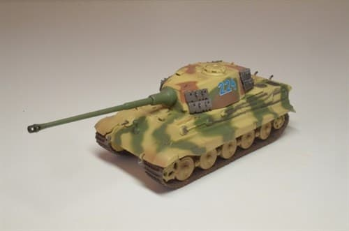 """Танк  """"Тигр"""" II SS Pz.Abt.501(башня Хеншель) (1:72) - фото 36029"""