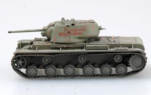 Танк  КВ-1 мод. 1942 г. (1:72) - фото 36031