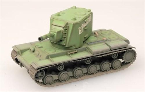 Танк  КВ-2 (ранний) (1:72) - фото 36034