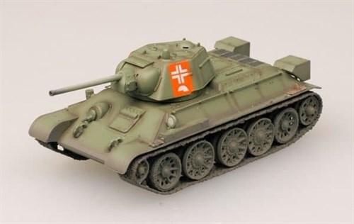 Танк  Т-34/76 Германия (1:72) - фото 36038