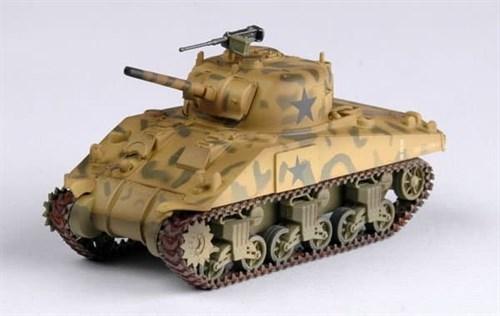 Танк  M4, 4-я бронетанковая дивизия (1:72) - фото 36043