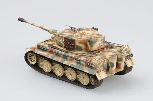 Танк  Tiger I (поздний), SS sPzAbt.102, Нормандия, 1944 г. (1:72) - фото 36055