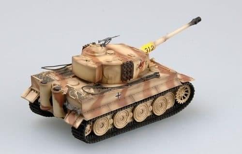 Танк  Tiger I, 505 бат. (1:72) - фото 36056