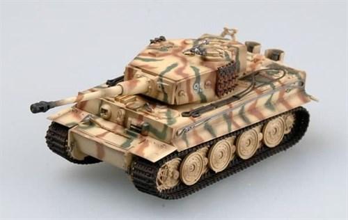 Танк  Tiger I, Тотенкопф (1:72) - фото 36057