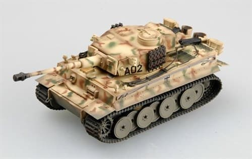 Tiger 1 Early Type Grossdeutschland Div. Russia1943  (1:72) - фото 36062