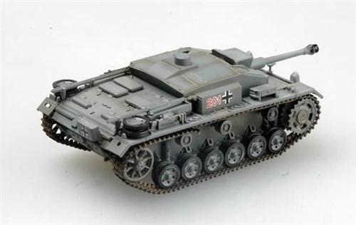САУ  StuG III Ausf.F, 201 бат. 1942г. (1:72) - фото 36071