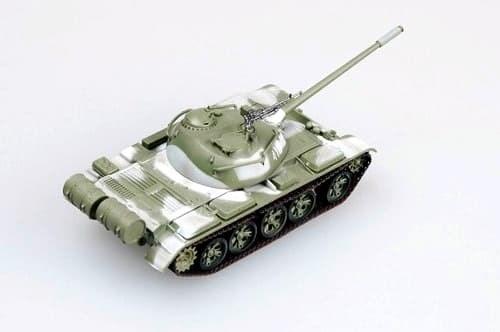 Танк Т-54 в зимнем камуфляже (1:72) - фото 36109