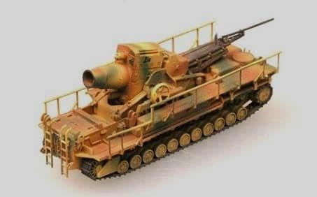 Орудие  Карл-Герет 040/041 (1:144) - фото 36116