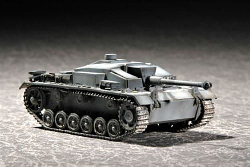 """САУ """"Штурмгешютц"""" III Ausf.F (1:72) - фото 36141"""