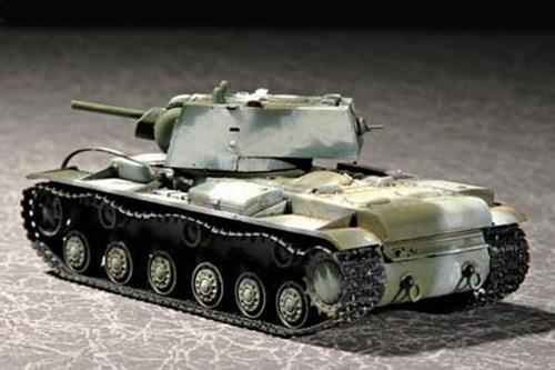 Танк  КВ-1 1941г. (1:72) - фото 36157