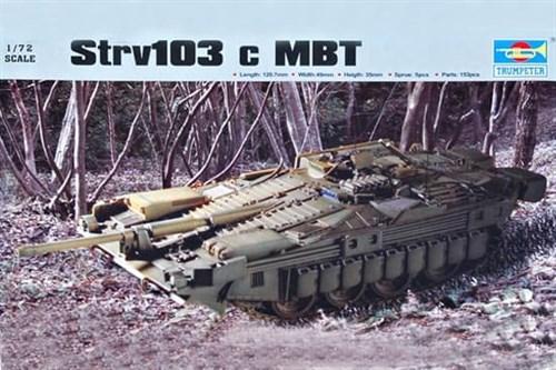 Танк  Strv-103c (1:72) - фото 36164