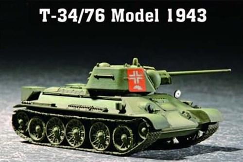 Танк  Т-34/76 мод 1943 г. (1:72) - фото 36168