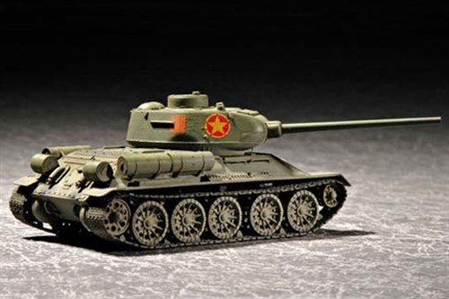 Танк  Т-34/85 мод 1944 г. китайский (1:72) - фото 36169