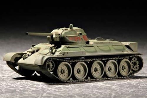 Танк  Т-34/76 мод 1942 г. (1:72) - фото 36170