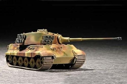 German Sd.Kfz. 182 King Tiger (Henschel Turret)  (1:72) - фото 36175