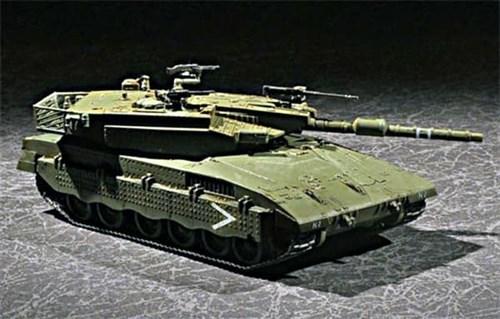 Танк  Israel Merkava Mk.III Baz MBT (1:72) - фото 36179
