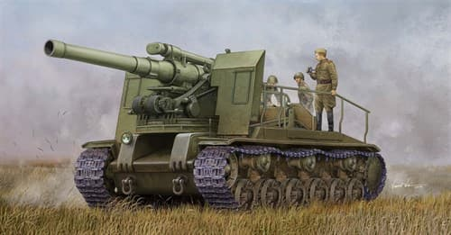 203-мм САУ С-51 образца 1943 года (1:35) - фото 36188