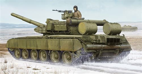 Танк  Т-80БВД (1:35) - фото 36190