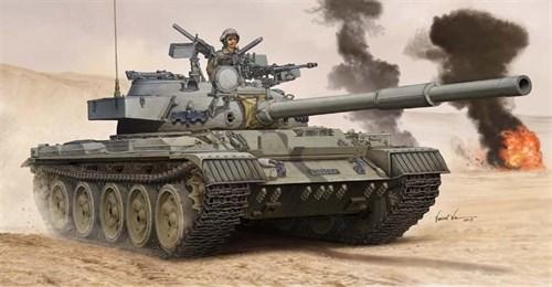 Танк  израильский Tiran-6 MBT (1:35) - фото 36192