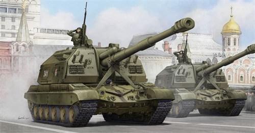 """152-мм САУ 2С19 """"Мста"""" (1:35) - фото 36193"""
