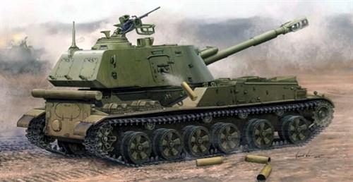 """152-мм САУ 2С3 """"Акация"""" поздний выпуск (1:35) - фото 36198"""