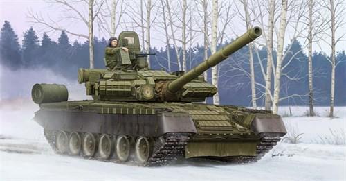 Танк  Т-80БВ (1:35) - фото 36199