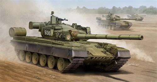 Танк  Танк T-80Б (1:35) - фото 36200