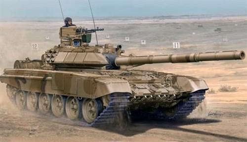 Танк  Т-90С со сварной башней (1:35) - фото 36202