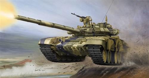 Танк  Т-90А с литой башней (1:35) - фото 36204
