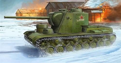 Танк КВ-5 (1:35) - фото 36205